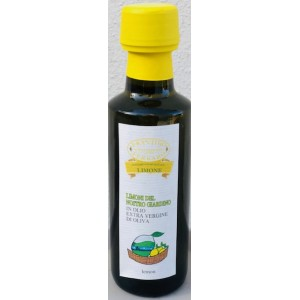 Olio Extra Vergine Aromatizzato ai limoni del nostro giardino 100ml