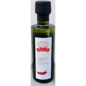 Condimento all'olio extra vergine di oliva con Peperoncino Campano 100ml.