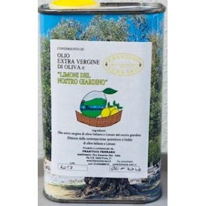 Olio Extra Vergine Aromatizzato al limone di Sorrento lattia 500ml