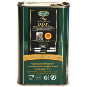 Extra virgin Olive Oil DOP Can 1000ml