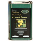Olio Extra Vergine Aromatizzato ai Limoni del nostro Giardino  lattina 250ml